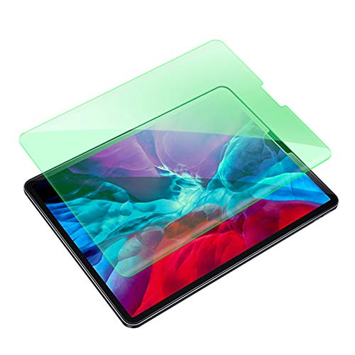 ALXDR [2 Pack] Green Light Screen Protector for Ipad Mini 4/5 (7.9 Inches), Clear High Definition/Anti Blue Light/9H Flexible Tempered Glass,iPad Mini 4 (7.9 inches)