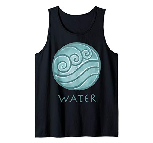 Nickelodeon Avatar The Last Airbender Painted Water Element Tank Top