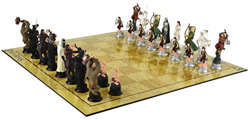 Lord of The Rings 3D Chess Characters United Labels