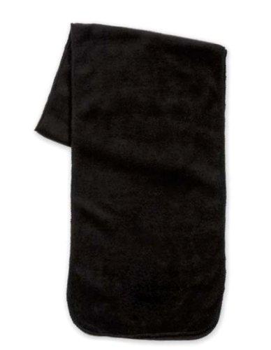 Simplicity Men / Women Winter Anti-Pilling Fleece Neck Scarf, Black