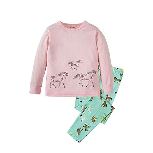 Conjuntos de Pijamas de Dibujos Animados para niños y niñas Pijamas para niños Traje de Dormir para niñas