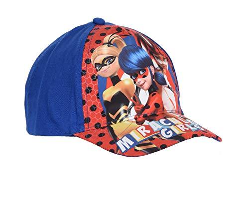 Miraculous-Belle Ladybug - Gorra, color azul azul 48 cm