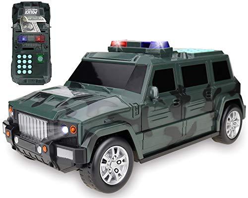 Police Hummer Piggy Bank