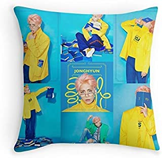 HOJJP Almohada Case JONGHYUN - She IS for Sofa Couch Living Room Bed Decorative (Square 16x16)