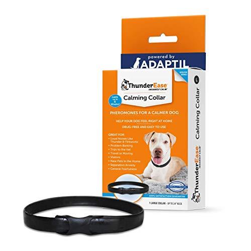 ThunderEase Beruhigendes Pheromon-Halsband für Hunde, Größe L