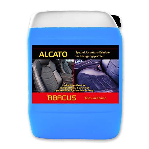 ABACUS 5 L ALCATO Tornador-Reiniger/Alcantara-Reiniger gebrauchsfertig für alle Alcantara- & Glattlederoberflächen (1086.5)