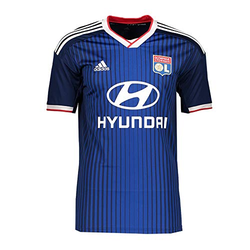 adidas Performance Olympique Lyon - Camiseta para Hombre, Talla XL, Color Azul...