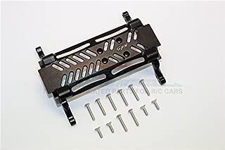 Axial SMT10 Grave Digger (AX90055) & MAX-D (AX90057) Upgrade Parts Aluminum Gear Box Bottom Mount - 1Pc Set Black