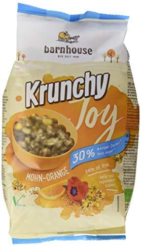 Barnhouse Krunchy Joy Mohn-Orange, 3er Pack (3 x 375 g)