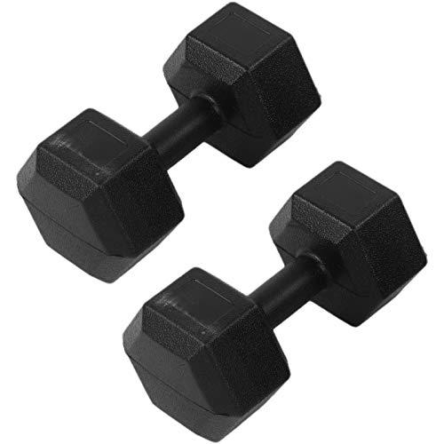 AYNEFY Coppia di manubri esagonali, Set di 2 Pezzi manubri da 5 kg, Pesi Palestra in Casa Fitness e Palestra Manubri e Pesi Fitness Pesi per Palestra Manubri