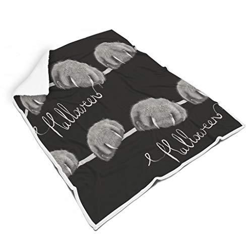 NC83 Blanket artistiek effect fotografie patroon print lichtgewicht twee maten plafond - super zacht voor lunchpauze gebruik