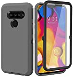 Annymall for LG V40 Case, LG V40 ThinQ Case, with Built in Screen Protector Full...