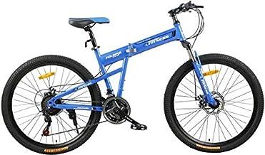 Fitness Minutes Folding Bike, Blue, FM-F26-03S-BL