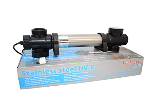 Jebao STU Stainless Steel UVC Clarifier (36-watt)