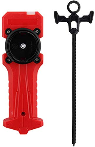 Launcher and Grip, Metal Fusion Burst Gyro Starter String Launcher(Red)