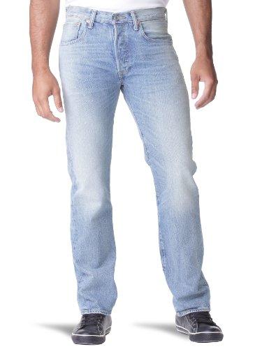 Levi's 501 Original Fit Jeans, Blu Sand, 30W / 30L Uomo