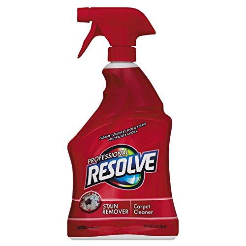 Professional RESOLVE 97402EA Spot & Stain Carpet Cleaner, 32oz Spray Bottle
