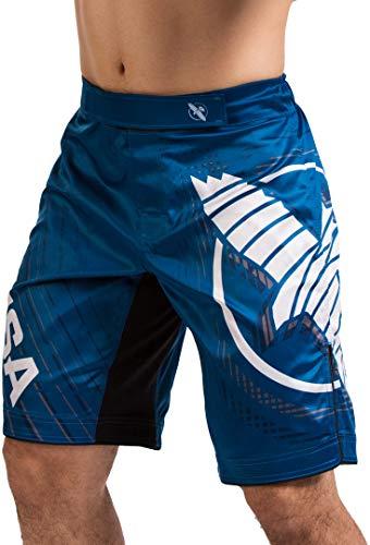 Hayabusa Chikara 4 MMA Fight Short - Blue, Large