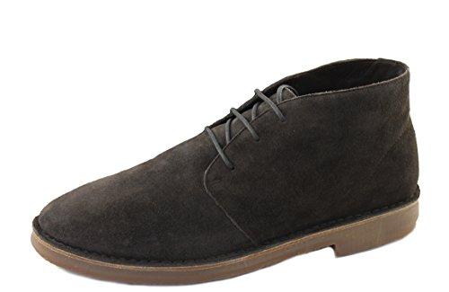 Armani Jeans Herrenschuhe Shoe Stiefeletten Schnürer 935056 braun (44)