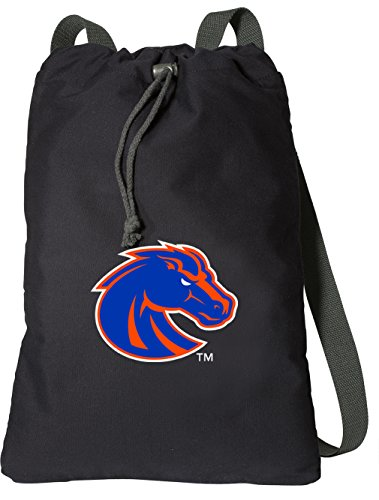 Boise State University Drawstring Backpack RICH CANVAS Boise State Broncos Cinch Bag