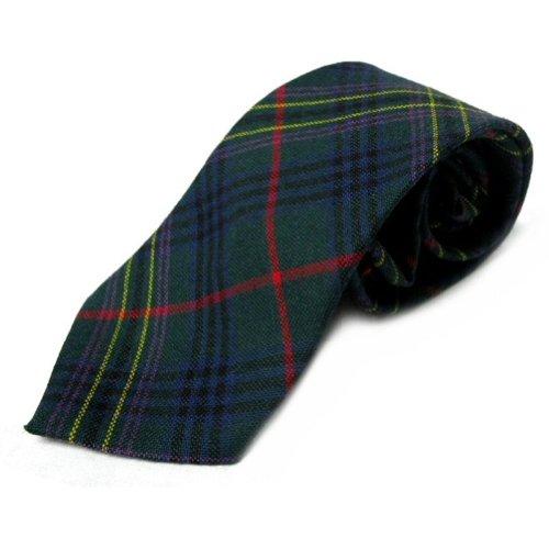 Corbata estilo tartán para hombre - 100% lana - Kennedy
