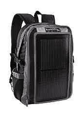 GoEnerplex PK-Alpha-GY Portable Solar Backpack Charger (3 Watt) Black