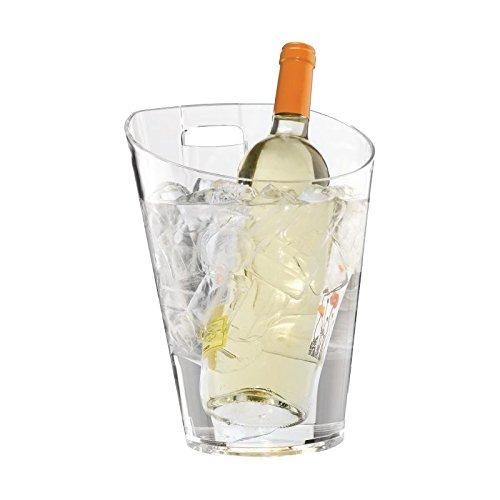 Tafel Gemonteerd IJsemmer en houder 750ml / 0.75Ltr Champagne Bowl Wijnkoeler