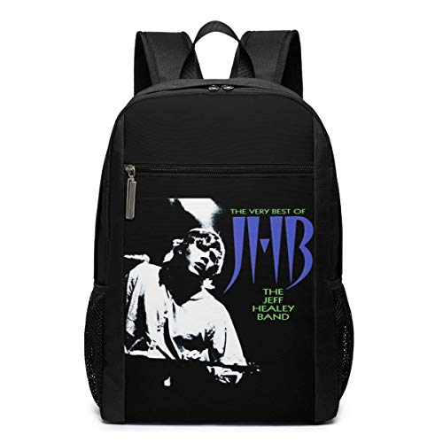 Lawenp Jeff Healey Band Backpack 17 Inch Laptop Bags College School Backpack Casual Daypack for Travel