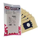 Paxanpax VB201 VB201-Bolsas compatibles Tipo S