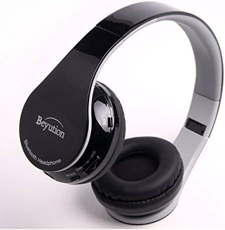Beyution Hi Fi Stereo Bluetooth Headphones Best audio Performance Over ear Bluetooth Headset product image