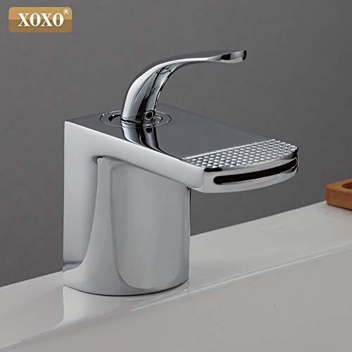 5151BuyWorld waterkraan voor badkamer, waterkraan, koud en warm water, wit, zwart, eenvoudig gat, eenvoudige deur, wastafel, schip, fontein, mengwater, kraan, 23035 23035c