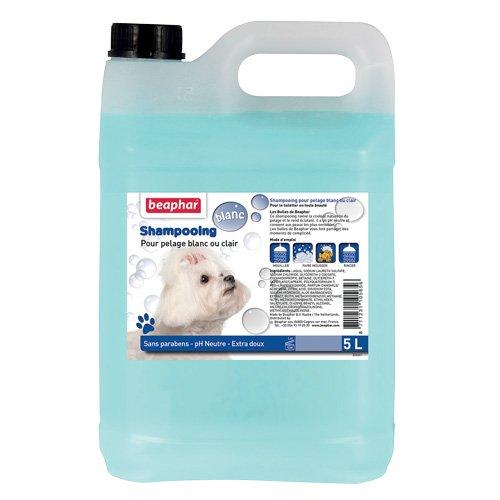 Beaphar shampoo voor honden wit 5 L