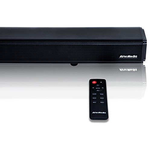 Learn More About AVerMedia GS333 SonicBlast Gaming Soundbar with 2.1 Channel