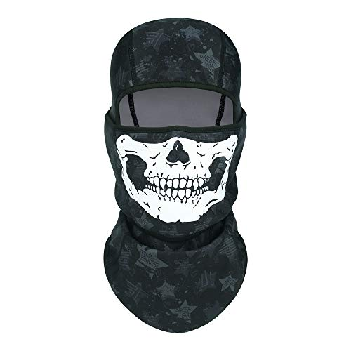 CUIMEI 3D Balaclava Face Mask for Men Motorcycle Ski Ice Fishing Cold Weather Winter Face Cover