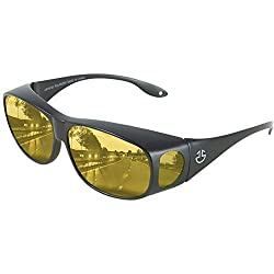 top rated Anti-reflective Night Glass, Polarized HD Night Vision Glass-Yellow Tone … 2021
