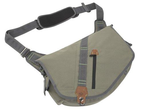 Prana Whipsaw Messenger Bag, Dark Olive