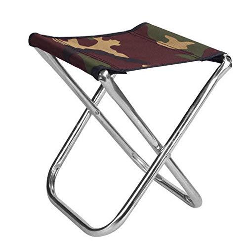 N&F Mini Sgabello Pieghevole Portatile Sedia da Campeggio Ultraleggera da Esterno Ultra Leggera Escursionismo Pesca Sedile da Campeggio H7JP Chaise de Tabouret de Plage Matériel de Camping