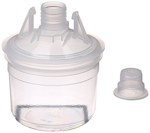 3M PPS Paint Spray Gun Cup Lids and Liners Kit, 16028,Micro, 3 Ounces, 200-micron Filter, Use with Paint Gun for Cars, Furniture, Home and More,50 Disposable Lids and Liners, 20 Sealing Plugs