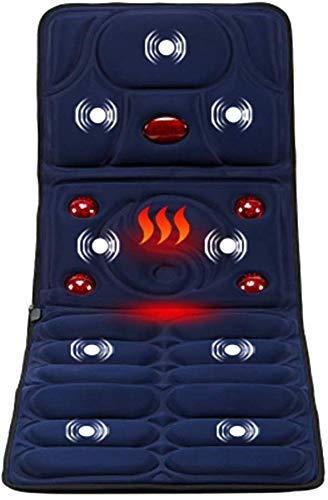 G-FLOOR-MAT Multi-Funktions-Shiatsu-Massagematte, Ganzkörper-Massage-Matratze, Mit Hitze-Elektrische Massage-Matte Für Stuhlkissen Decke Für Wohltuende Körper
