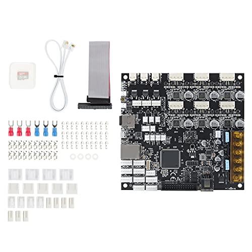 KLOVA Duet3 6HC, Upgrade Cloned Duet 3 6HC Placa de Controlador Duet 3 Placa Base Avanzada de 32 bits para BLV MGN Cube Impresora 3D Máquina CNC