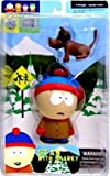 South Park Stan with Sparky Action Figure by Mirage Toys 2003.