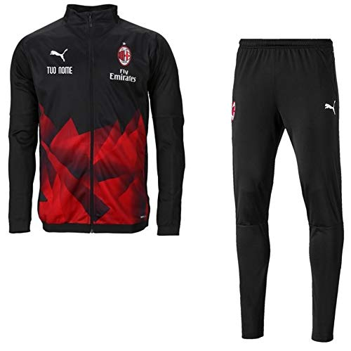 MAESTRI DES CALCIO Trainingsanzug International A.C. Milan 2019/2020 personalisiert, L