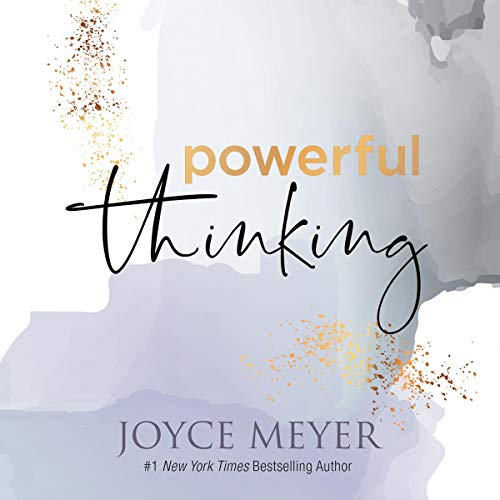 Powerful Thinking Audiobook By Joyce Meyer cover art