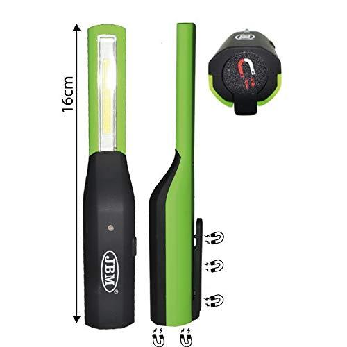 JBM 52987 Lámpara de bolsillo con batería, Multicolor