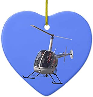 Lplpol Helicopter Ornament Personalized Chopper Decoratio
