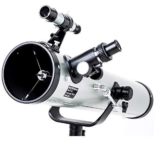 Best Price YHDQ Astronomical Telescope, Professional Stargazer Beginner high-Definition Stargazer, 5...