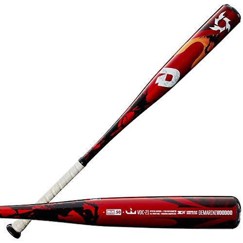 "DeMarini Voodoo One (-3) BBCOR Baseball Bat - 32""""/29oz, Black -  WTDXVOC 2932-21"