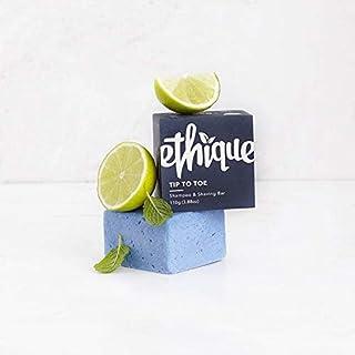 Ethique Tip To Toe Shampoo and Shaving Bar, 110 grams