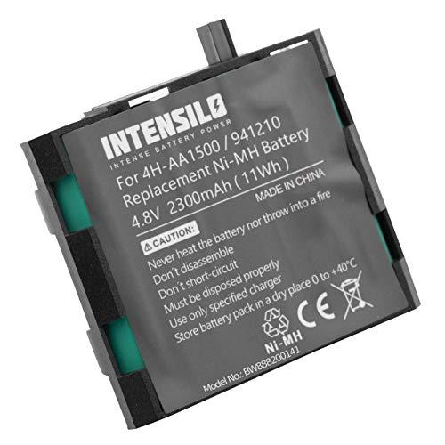 INTENSILO Akku passend für Compex Muskelstimulator Geräte - Ersetzt Compex 4H-AA1500, 4H-AA2000, 941210, 941213 (NiMH, 1500mAh, 4.8V) Accu, Ersatzakku