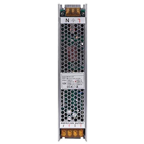 Transformador LED regulable Controlador LED regulable Fuente de alimentación Controlador LED regulable de bajo ruido Fuente de alimentación LED regulable Alta precisión para LED de interior